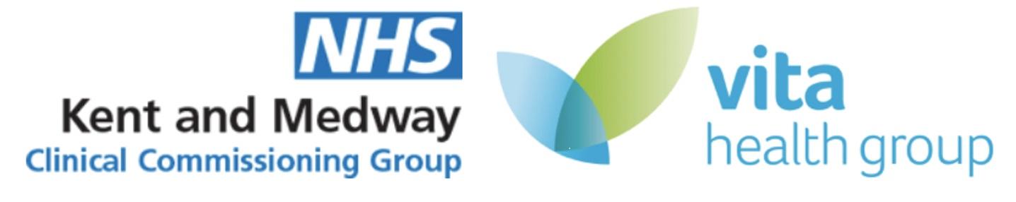 NHS Kent and Medway CCG Vita Health Group